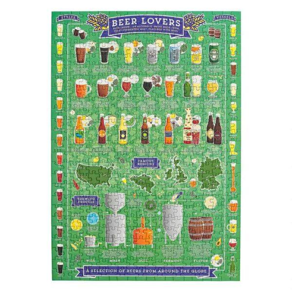 beer lover's jigsaw