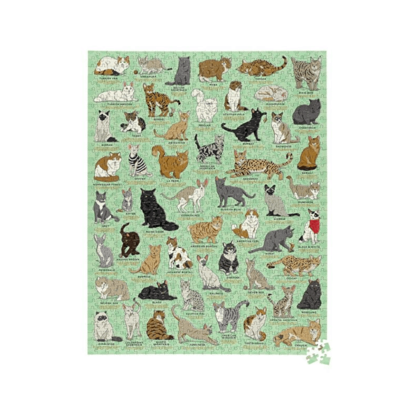 cat lovers jigsaw