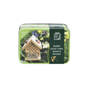 insect house in a tin