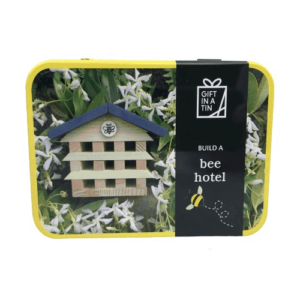 bee hotel in a tin
