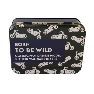 Born To Be Wild Model - Motorbike In A Tin