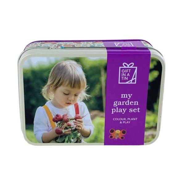 My Garden Play Set In A Tin