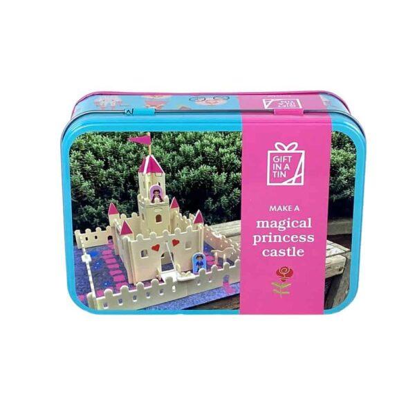 Make A Magical Princess Castle In A Tin