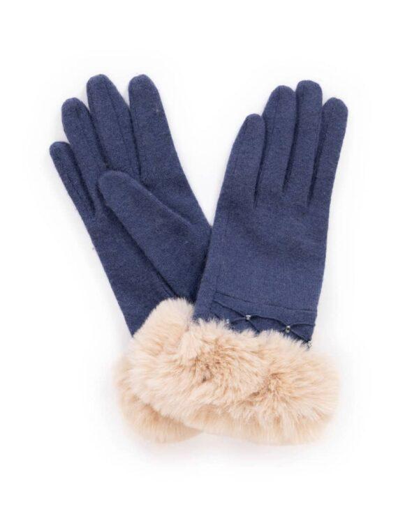 tamara blue gloves