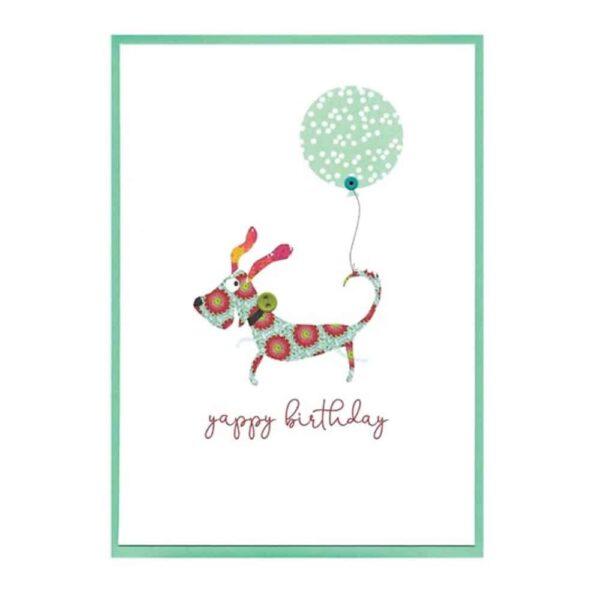 yappy birthday card