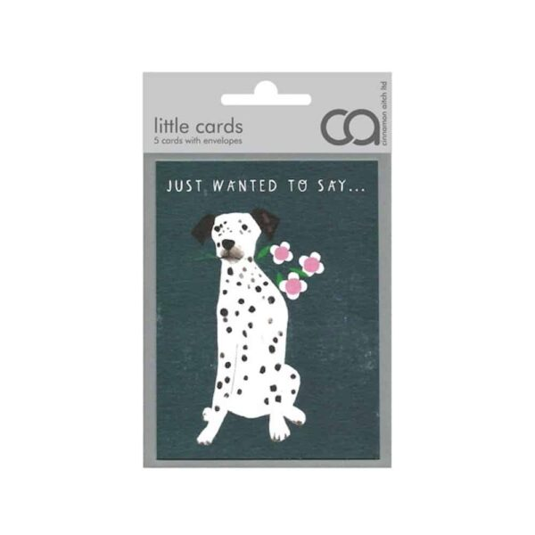 Dalmation Note Cards Pack