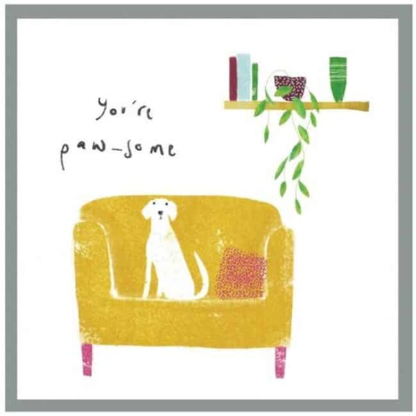 you're paw-some card