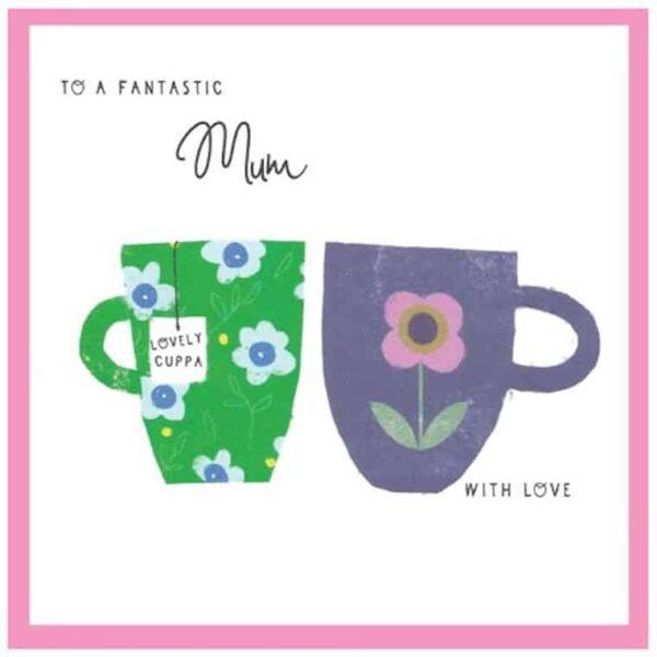 To A Fantastic Mum Greetings Card