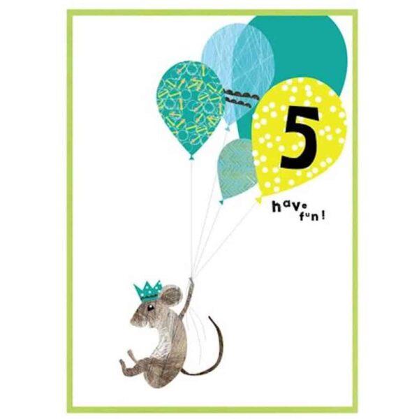 5 Have Fun Birthday Card