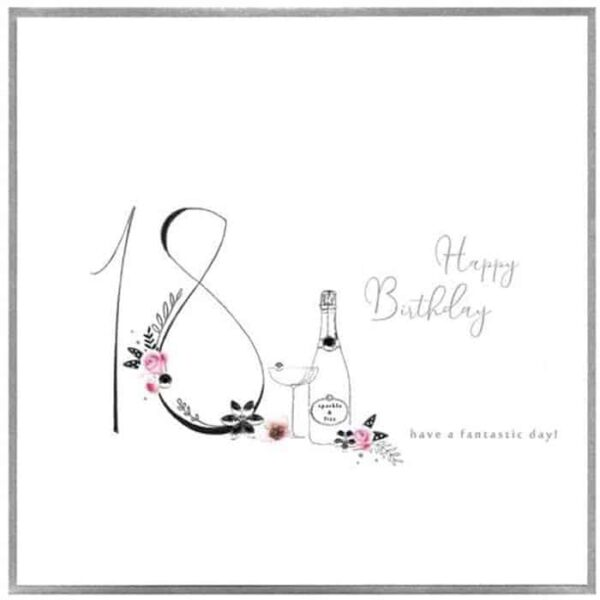Have A Fantastic 18th Day Birthday Card