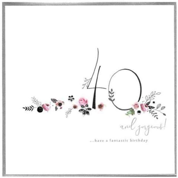 Have A Fantastic 40th Birthday Card