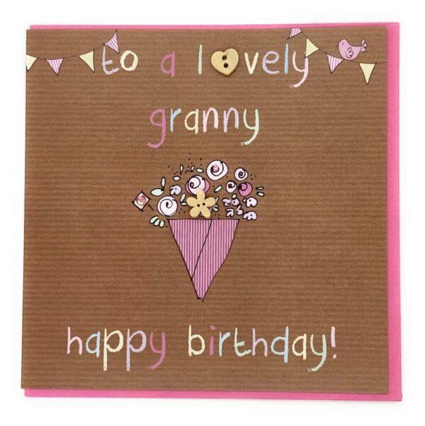 lovely granny card