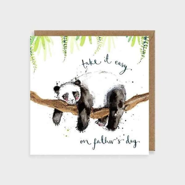 Take It Easy Father's Day Card