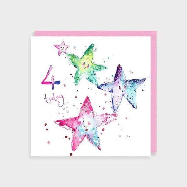 4 Today Starfish Greetings Card