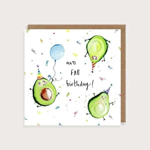 avo fab birthday card
