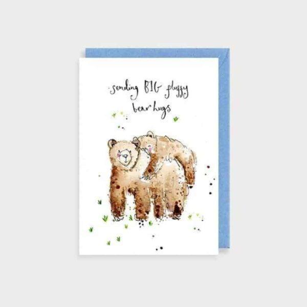 big fluffy bear hugs