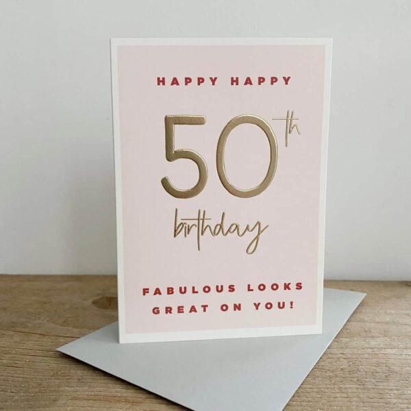 Happy Happy 50th Birthday