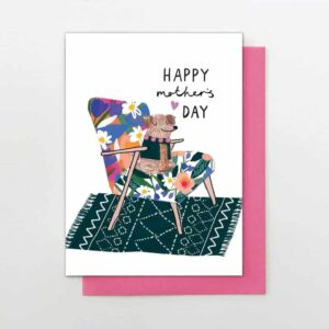 doggy mother's card