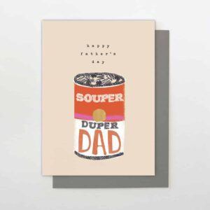 Souper Duper Father's Day Card
