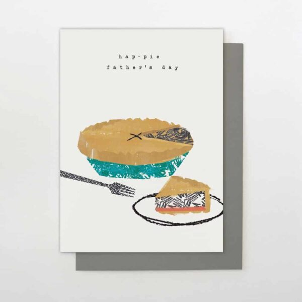 Hap-pie Father's Day Card