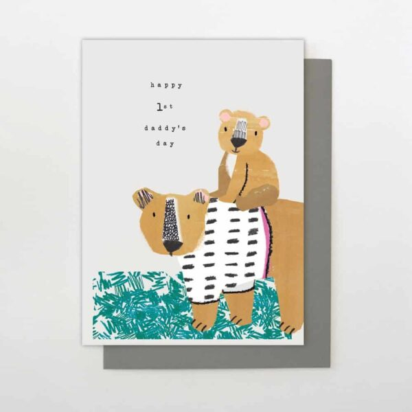 Happy First Daddy's Day Card