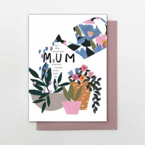 watering can mothers day card