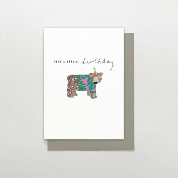 have a great birthday card