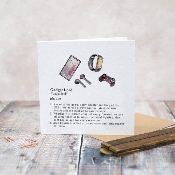 gadget lord card