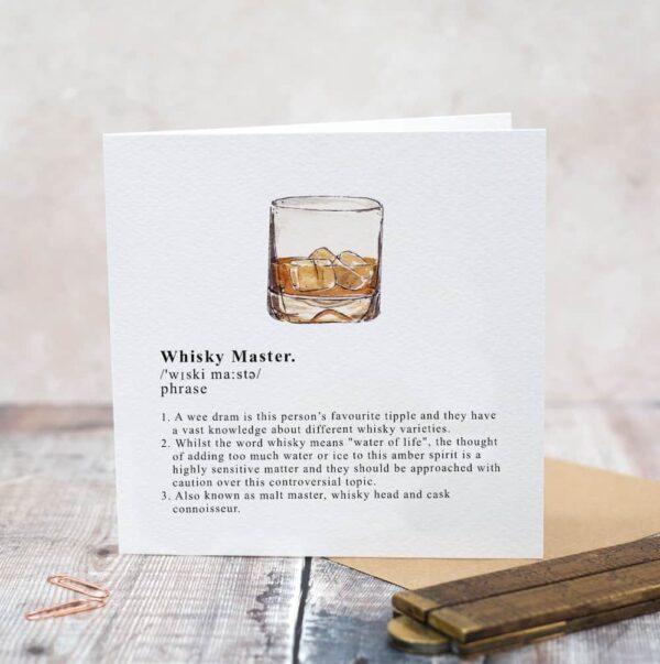 whisky master card