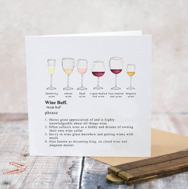wine buff card