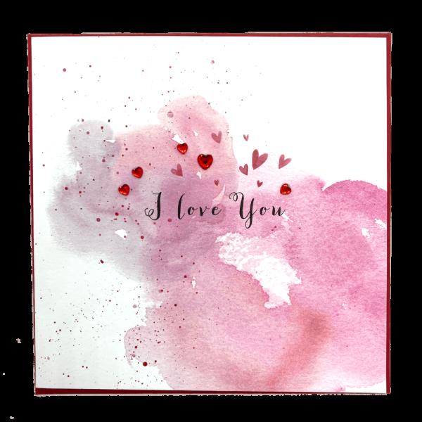 I Love You Jewel Valentine's Card