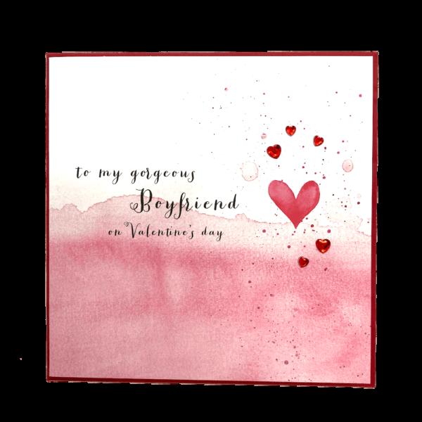 to my gorgeous boyfriend