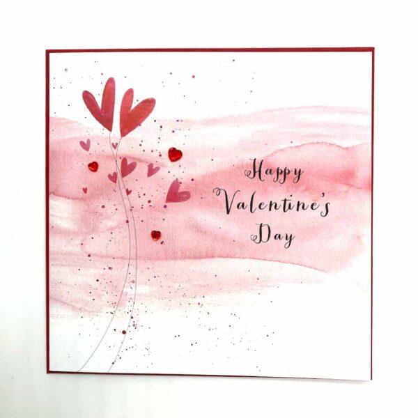 Happy Valentine's Day Jewel Card