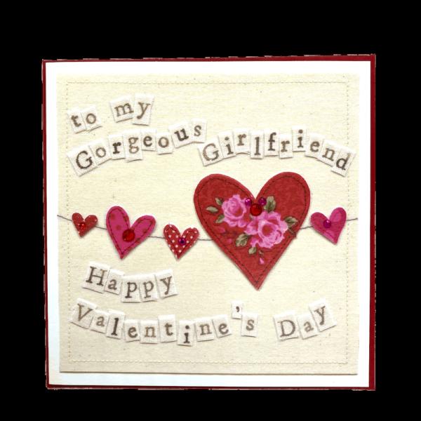 to my gorgeous girlfriend