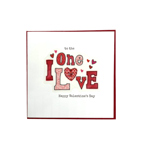 To The One I Love Happy Valentine's Day