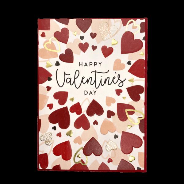 Hearts & Happy Valentine's Day