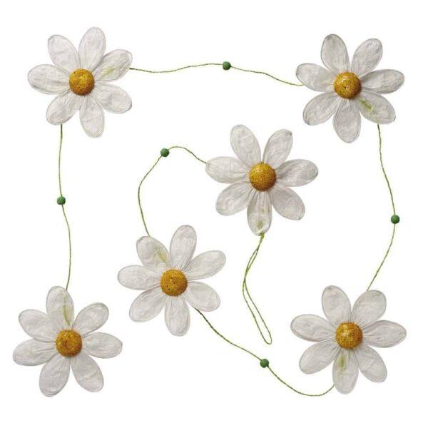 giant daisy garland