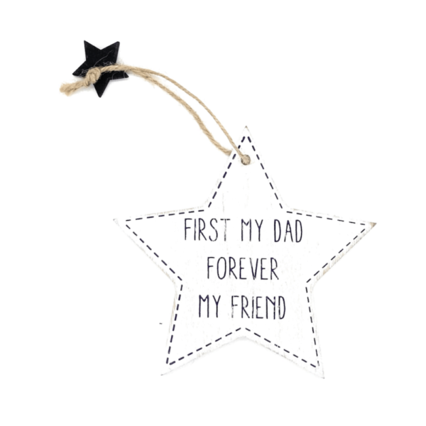 first dad forever friend star