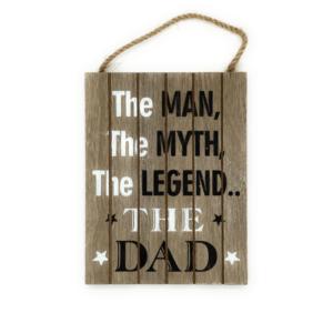 man myth legend dad sign