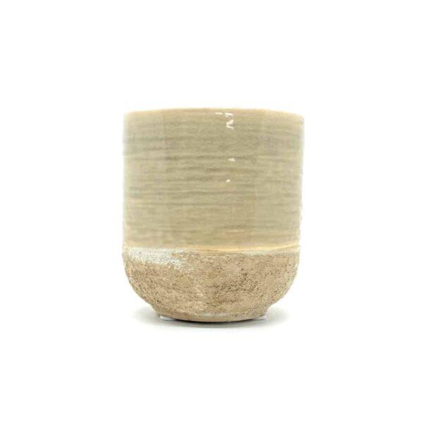 vasto ivory plant pot