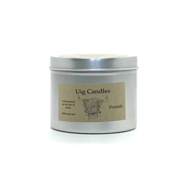 Fireside Candle in A Tin