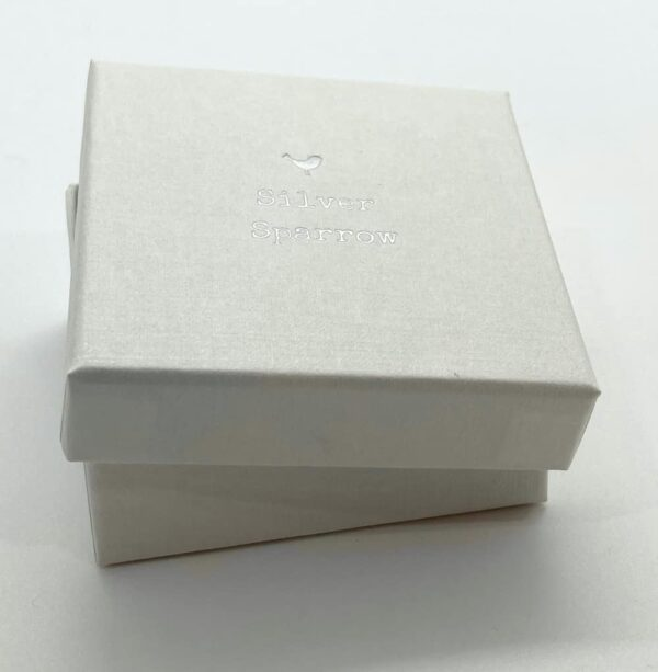 silver sparrow jewellery gift box