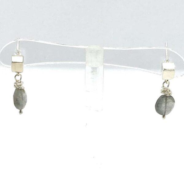 aurora borealis stud earrings