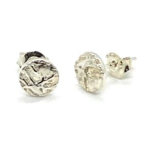ss stud frost earrings