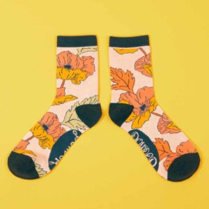 Poppy Pastel Ankle Socks