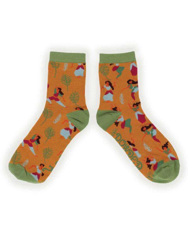 Indian Dancer Ankle Socks