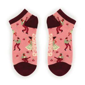 Latin Dancer Trainer Socks