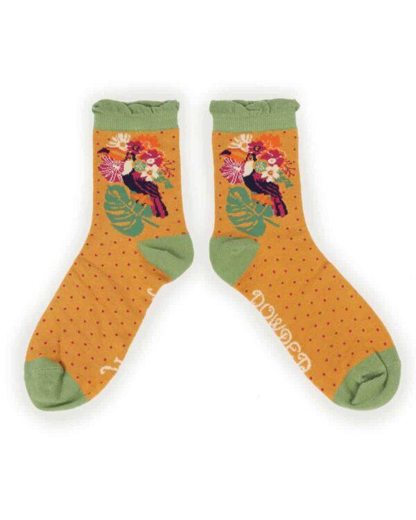 Toucan Ankle Socks