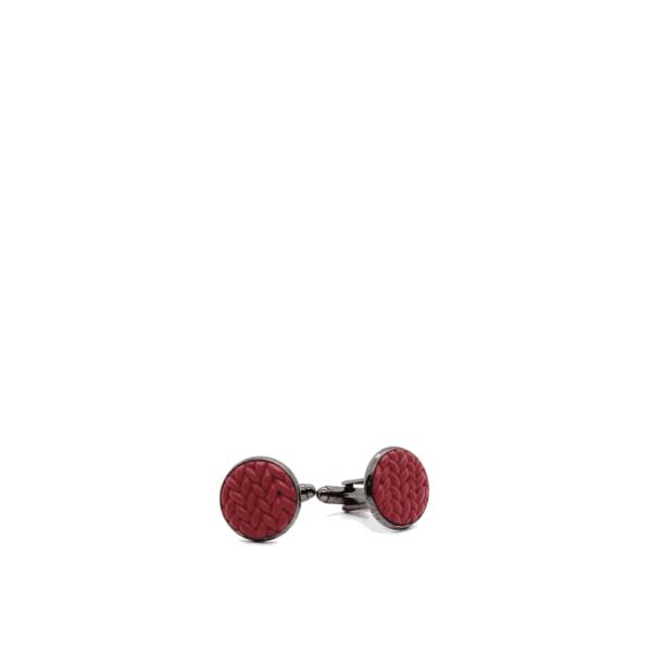 red clay cufflinks