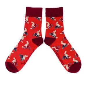 racing rabbit mens socks